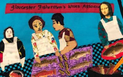 Gloucester Fishermen's Wives Quilt
